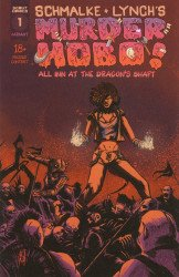 Scout Comics's Murder Hobo: All Inn at the Dragon's Shaft Issue # 1b