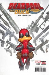 Marvel Comics's Deadpool the Duck Issue # 4