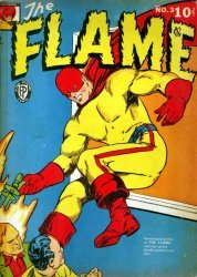 Fox Publications's The Flame Issue # 3