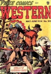 Prize Publications's Prize Comics Western Issue # 105