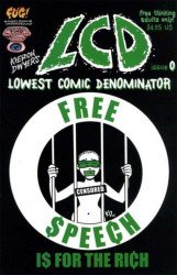 FogelComix's LCD: Kieron Dwyer's Lowest Comic Denominator Issue # 0 - 2nd print