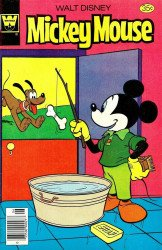 Gold Key's Mickey Mouse Issue # 184whitman