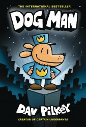 Graphix's Dog Man Hard Cover # 1