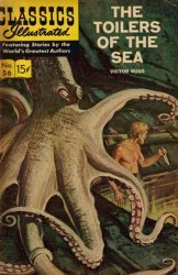 Gilberton Publications's Classics Illustrated #56: The Toilers of the Sea Issue # 3