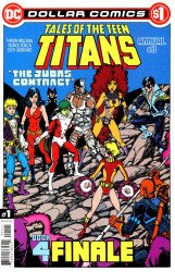 DC Comics's Tales of the Teen Titans Annual # 3dollar comics