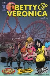 Archie Comics Group's Betty & Veronica Issue # 1three rivers