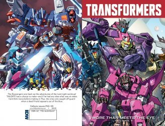 IDW Publishing's Transformers: More Than Meets the Eye TPB # 9