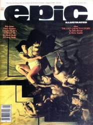 Epic Comics's Epic Illustrated Issue # 31