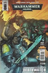 Titan Comics's Warhammer 40,000: Deathwatch Issue # 2b
