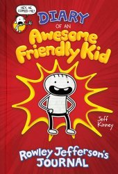 Amulet Books's Diary of an Awesome Friendly Kid: Rowley Jefferson's Journal Hard Cover # 1