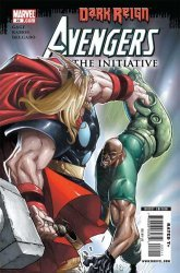 Marvel Comics's Avengers: The Initiative Issue # 22