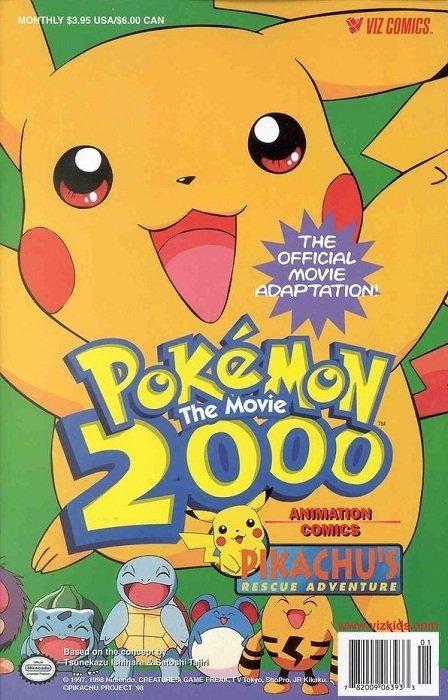 Pokemon The Movie 2000 Pikachu S Rescue Adventure Issue 1