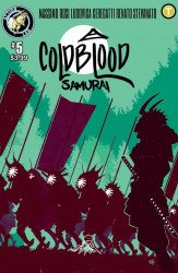Action Lab Entertainment's Cold Blood Samurai Issue # 5