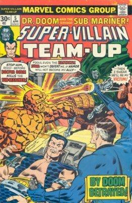 Super-Villain Team Up 2 Marvel 1975