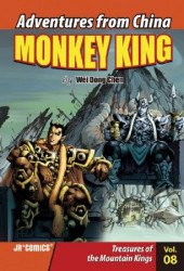 JR Comics's Adventures from China: Monkey King Issue # 8