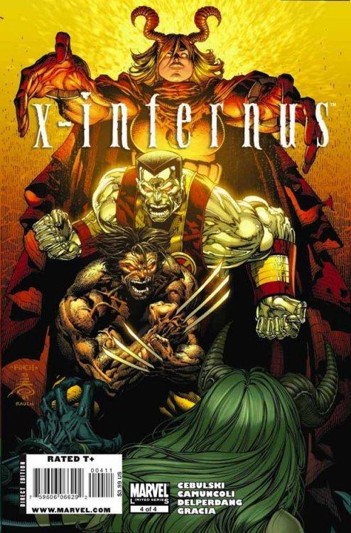 Leituras de BD/ Reading Comics: X-Men: Inferno