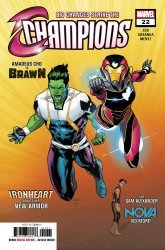 Marvel Comics's Champions Issue # 22