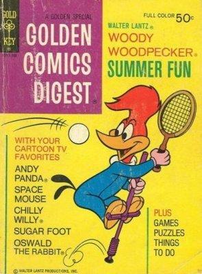 Golden Comics Digest #37 - Gold Key July 1974
