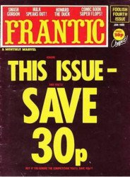 Marvel UK's Frantic Issue # 4