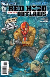 DC Comics's Red Hood and the Outlaws Issue # 6