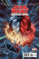 Marvel Comics's Journey to Star Wars: Force Awakens - Shattered Empire Issue # 3disposable