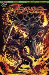 American Mythology's Zorro: Swords of Hell Issue # 3