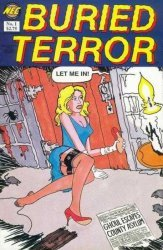 New England Comics Press's Buried Terror Issue # 1