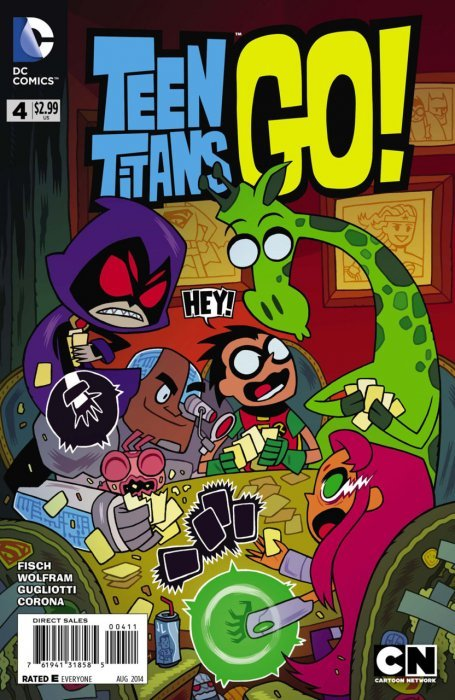 Can Teen titans dc comic