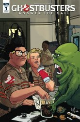 IDW Publishing's Ghostbusters: Answer the Call Issue # 1ri-b