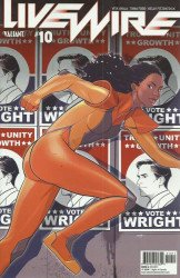 Valiant Entertainment's Livewire Issue # 10