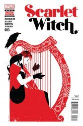 Marvel's Scarlet Witch Issue # 3