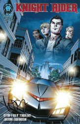 Lion Forge Comics's Knight Rider Issue ashcan