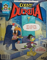 Celebrity Comics's Count Duckula Issue # 11