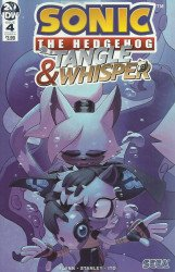 IDW Publishing's Sonic the Hedgehog: Tangle & Whisper Issue # 4b