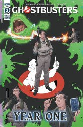 IDW Publishing's Ghostbusters: Year One Issue # 3