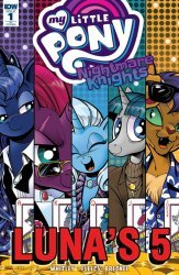 IDW Publishing's My Little Pony: Nightmare Knights Issue # 1ri