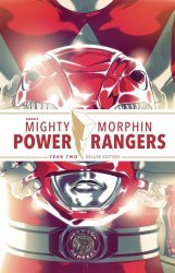 BOOM! Studios's Mighty Morphin Power Rangers Hard Cover # 2