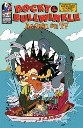 American Mythology's Rocky & Bullwinkle: As Seen on TV Issue # 2