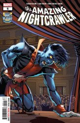 Marvel Comics's The Age of X-Man: The Amazing Nightcrawler Issue # 5