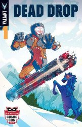 Valiant Entertainment's Dead Drop Issue # 1dcc