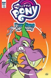 IDW Publishing's My Little Pony: Guardians of Harmony Annual # 1sub