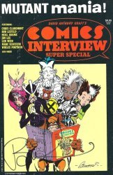 Fictioneer Books's David Anthony Kraft's Comics Interview Special # 1991