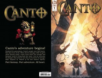 IDW Publishing's Canto Issue # 1ri