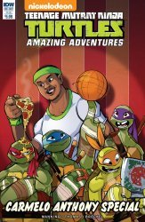IDW Publishing's Teenage Mutant Ninja Turtles: Amazing Adventures: Carmelo Anthony Special  Issue # 1sub