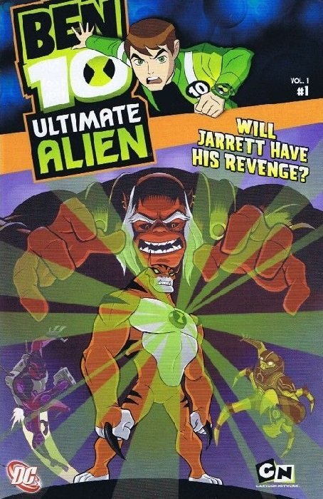 Ben 10 Ultimate Alien Issue 1s Cover Image