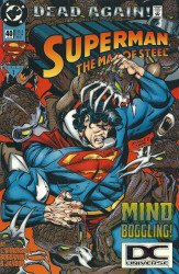 DC Comics's Superman: Man of Steel Issue # 40b