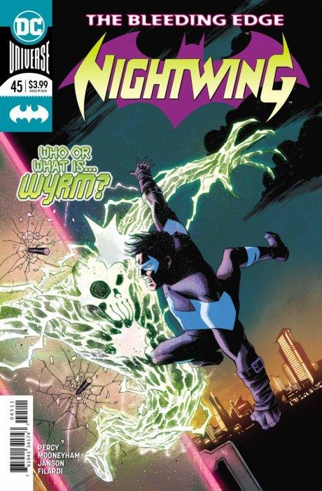 Nightwing #4 Vf 1st Print Dc Comics vol 2