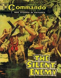 D.C. Thomson & Co.'s Commando: War Stories in Pictures Issue # 987