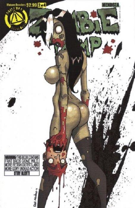 Zombie Tramp 2b Danger Zone Comicbookrealm Com