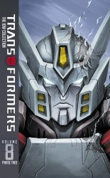 IDW Publishing's Transformers: The IDW Collection - Phase Two  Hard Cover # 8